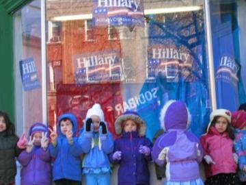 Preschool Girls forClinton