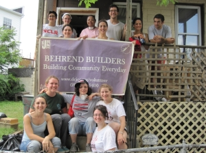 AVODAH volunteers repair a home