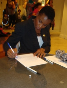 Congresswoman Donna Edwards