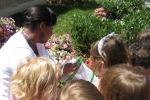 Releasing the butterflies