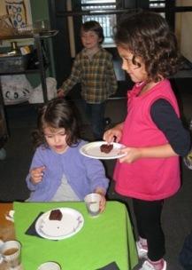 Serving Brownies