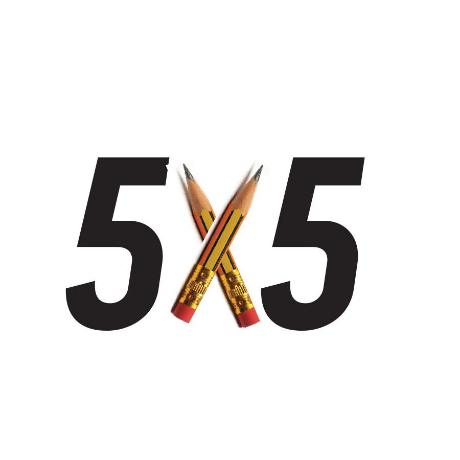 5 By 5…